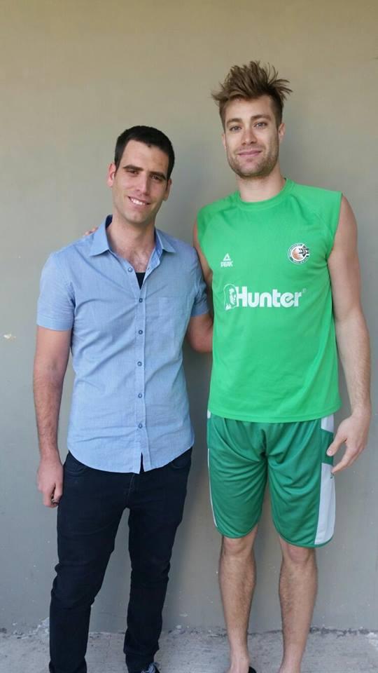אני שמח וגאה לשתף שמוניתי לתזונאי של מכבי חיפה כדורסל