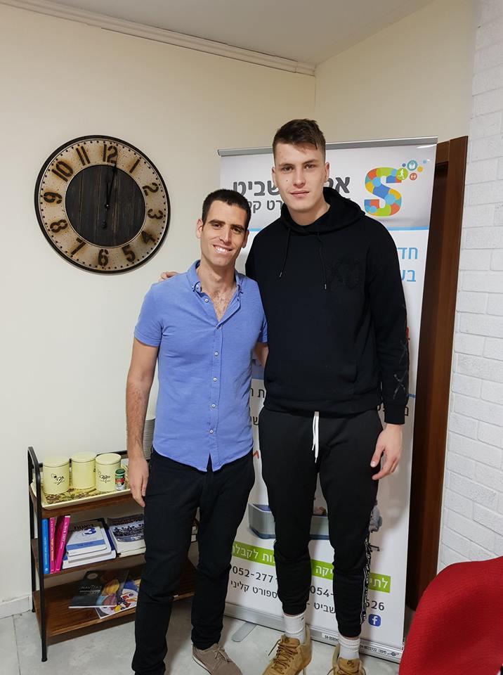 דניאל קופרברג- שחקן מכבי חיפה כדורסל
